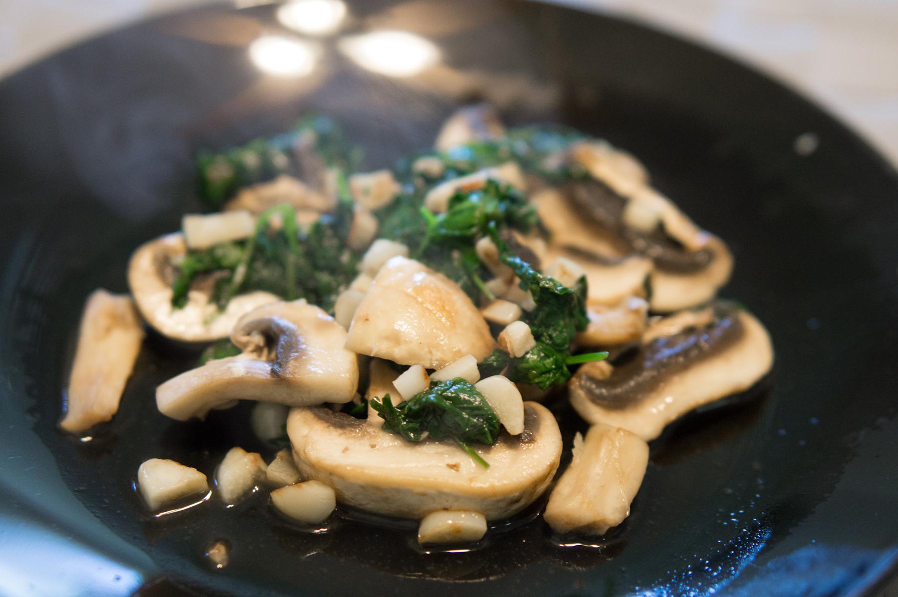 Mushroom Coriander
